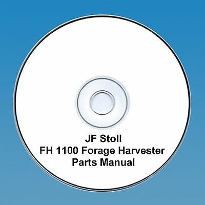 JF Stoll FH 1100 Forage Harvester -  Parts Manual