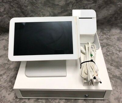 Clover POS System - Screen, Printer, Cash Drawer - NO KEY FOR DRAWER