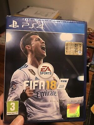 Ps4 Gioco Fifa 18 Playstation 4 Ps4 Nuovo