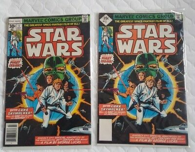 Star Wars #1 reprint good condition lot of TWO.