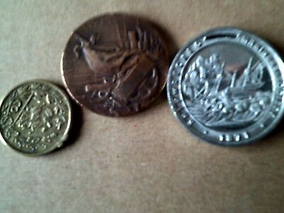 Old Medals Shipwrecked Mariners Society And Others