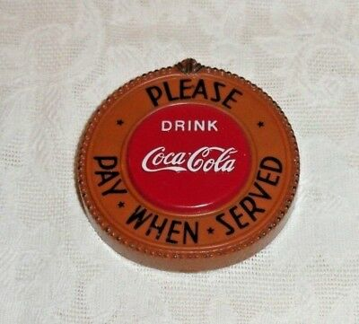 1998 Drink Coca Cola Please Pay When Served Fridge Magnet