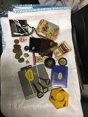 Collectables Vintage Job Lot,Silver Coins Ect