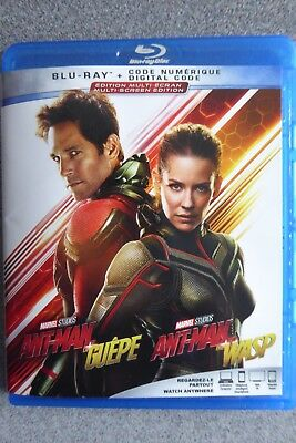 Ant-man and the Wasp/ Ant-Man et la Guepe (Blu-ray + digital 2018)