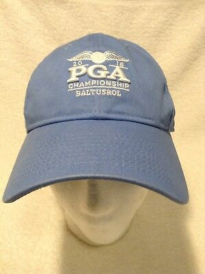 New Era 2016 PGA Championship Baltusrol Womens Hat Cap Adjustable Strap Blue 1b2eecc7464d