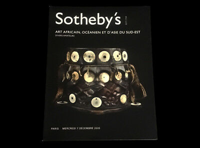 Sotheby's African Oceanic Southeast Asian Tribal Art Paris December 2005 Dayak