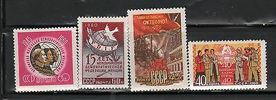 Russia 1960 Lot Of Stamps #10  Mnh