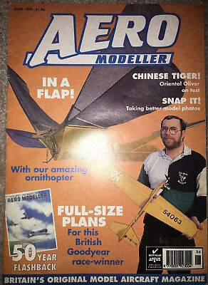 Aeromodeller - June 1993 - Ornithopter- Excellent condition