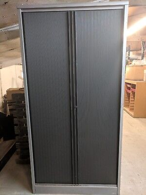 Silverline Filing Cupboard Vertical Filing Pullout Drawers.