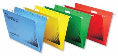 Rexel Crystalfile Flexifile Suspension Files A4 150 Sheet Capacity - Pack of 50,