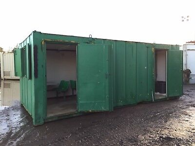 Site Office Canteen Drying Room Storage Portable Welfare Unit Anti Vandal Steel