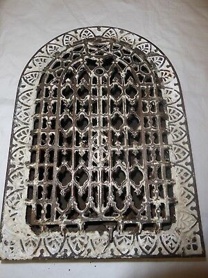 Antique Cathedral Heating Register