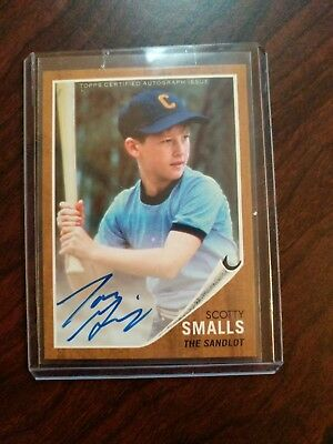 2018 Topps Archives Scotty Smalls Auto! SP!