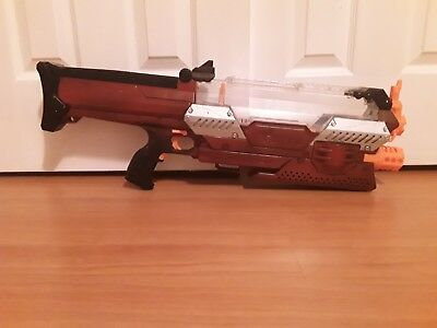 Nerf Rival Nemesis MXVII-10K red modified