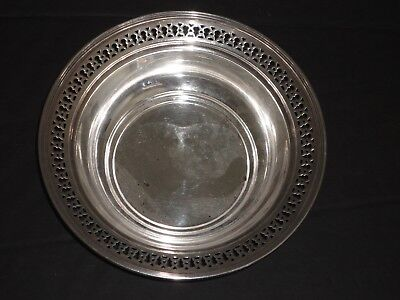 TIFFANY & CO STERLING SILVER PIERCED SERVING BOWL 925-1000 No monogram!