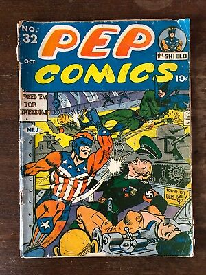 PEP Comics  #32 incomplete