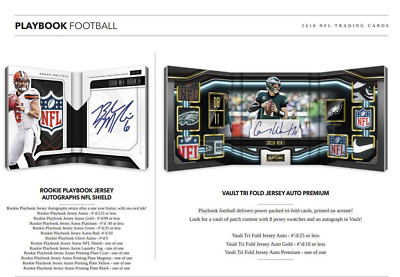 2018 Panini Playbook Football Hobby Pick Your Player (Pyp) 1 Box Break #3
