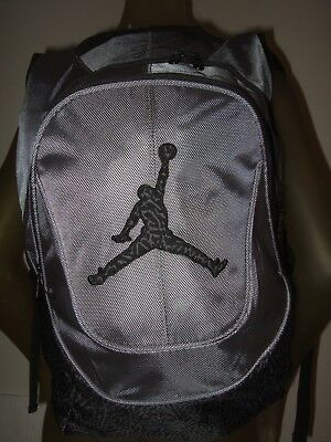 26d5c5d0b2e2 Nike Air Jordan Jumpman Backpack 9A1414-783 Black Graphite Elephant Print   60