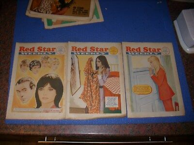 3 Red Star Weekly Womans Magazine  1973