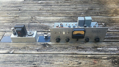 Ampex 350 Tube Microphone Preamp Record/Reproduce Amplifier With Power Supply