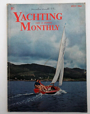Vintage Yachting Monthly Magazine July 1964 698 singlehanded transatlantic race
