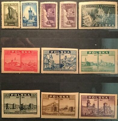 Poland - Stamps From 1945-46, MNH