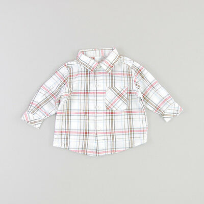 Camisa color Blanco marca Baby Club 12 Meses  138012
