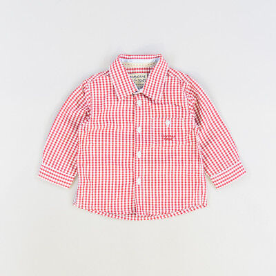Camisa color Rojo marca Mayoral 6 Meses  207736
