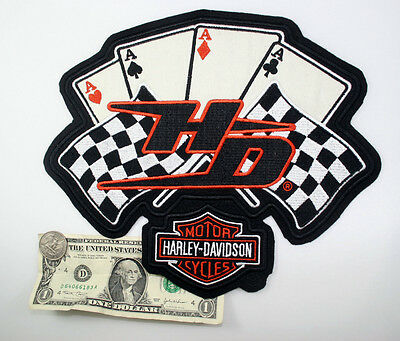 Harley Davidson big aces patch Rare