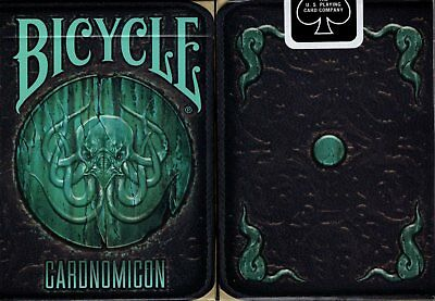 Cthulhu Cardnomicon Bicycle Playing Cards Poker Size Deck USPCC Custom Limited