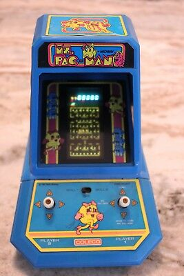 Ms. Pac-Man Tabletop Mini Arcade Game 1981 Bally Midway's Coleco