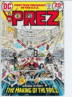 DC Comics Prez # 1 in 9.2 NM- Condition with OW/White Pages
