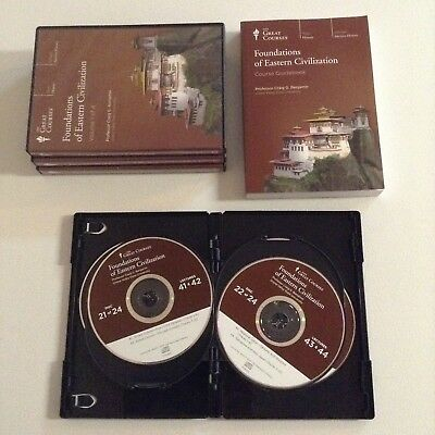 Teaching Company: FOUNDATIONS OF EASTERN CIVILIZATION - 24 CD Set - Great Course
