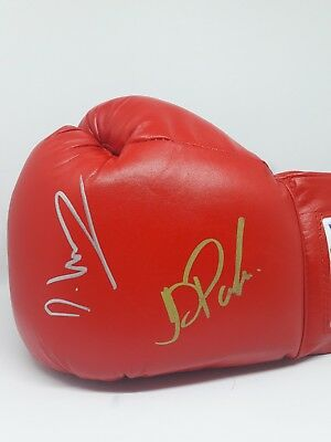Dillian Whyte And Joseph Parker Signed Boxing Glove.