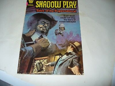 Shadow Play, Tales of the Supernatural (Whitman Comics) #1 1982 Vintage