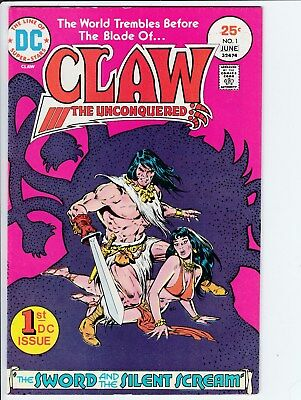 DC Comics Claw # 1 in 9.0 VF/NM Condition with White Pages