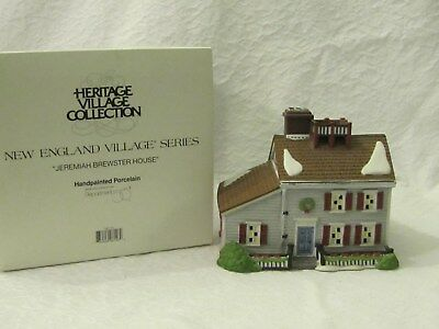 Dept 56 NEV New England Village Jeremiah Brewster House #5657-0
