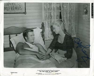 Autographs-original Confident Hope Lange Actress 1973 Same Time Next Year Movie Autographed Signed Index Card Movies