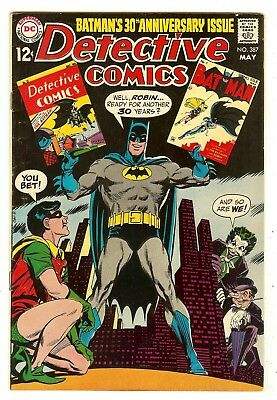 Detective Comics 387   30th Anniversary