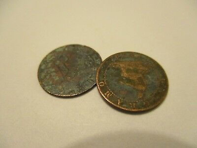 COINS SPAIN 1870's SPANISH EUROPEAN SET OF 3 COLLECTIBLES #722