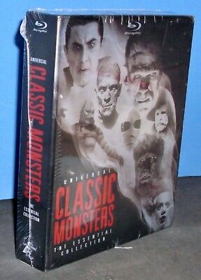 Universal Classic Monsters: The Essential Collection (8 Blu-ray Discs Set, 2012)