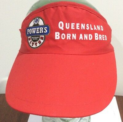Power'S Queensland Born And Bred Cap, Power'S Bitter Qld Born And Bred Cap/visor