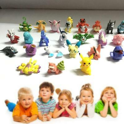 48pcs HOT New Cute Lots 2-4cm Pokemon Pocket Mini Random Pearl Figures Toys BG