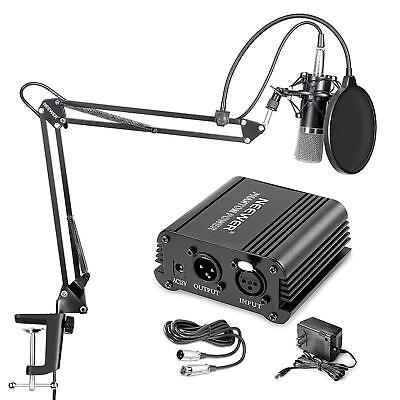 Neewer NW-700 Professional Condenser Microphone and NW-35 Suspension Boom Arm