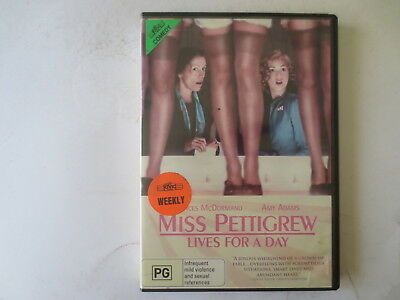 Miss Pettigrew Lives For A Day DVD R4 #5757