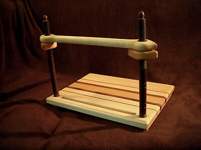 Bookbinding sewing frame, Victorian style, all wood book binding 2..........3058