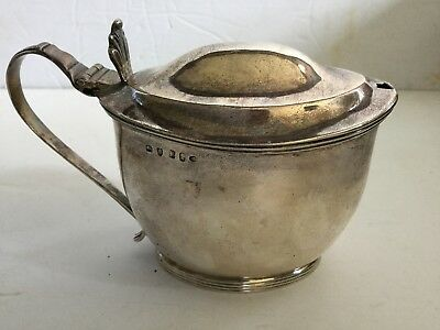 London Silver Mustard Pot Early 1800's John Edwards III - Old Estate Collection