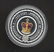 2003 Golden Jubilee Coloured Proof Coin