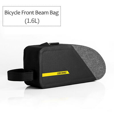 Cycling Front Bag Waterproof  MTB Bike Top Tube Bicycle Frame Pouch Bag 1.6L