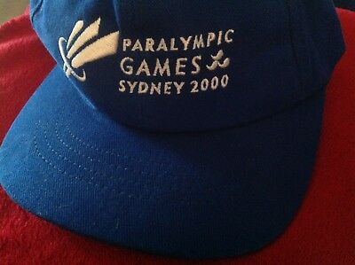 Olympic Games Collectable - Sydney - 2000 - Paralympic Games Cap